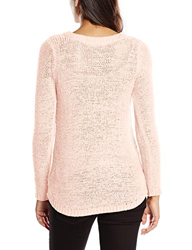 ONLY Damen Pullover Onlgeena Xo L/S Pullover Knt Noos Rosa (Peach Whip)