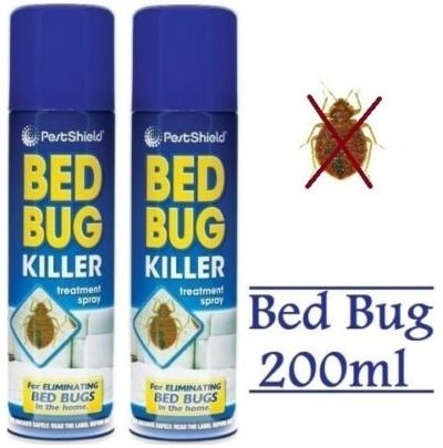 2x Bett Matratze Bug Killer–von pajee TM (Bug-entferner-spray)