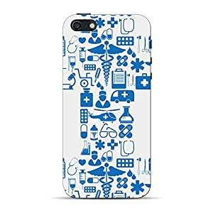 Mobile Back Cover For Apple iPhone 5s (Printed Designer Case)