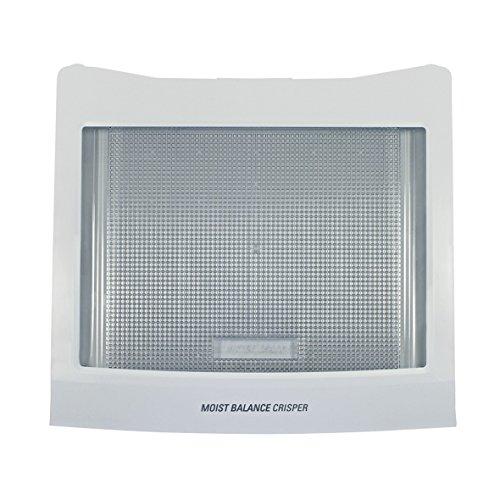 LG Electronics ACQ76172621 ORIGINAL Abdeckplatte Abstellplatte Glasplatte Einschubboden Abdeckung Platte Kühlschrank Gemüsefach