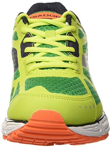 Diadora Herren N-4100-2 Trainingsschuhe Verde (Verde Sorgente/Lime)