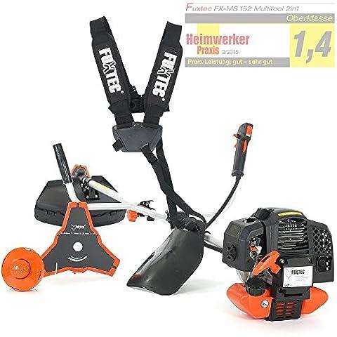 FUXTEC FX-MS152 2in1 Orange Benzin-Rasentrimmer / Motor