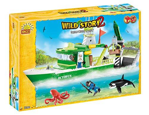 COBI Wild Story 2Scientific Boot Board Game
