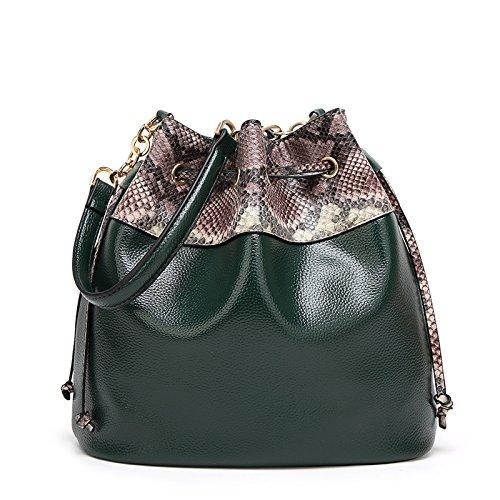 Mefly Nuova Moda Inverno Borsetta Bag Borsa A Tracolla Messenger Bag Verde green