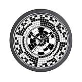 Horloge murale analogique CafePress binaires Standard Multicolore