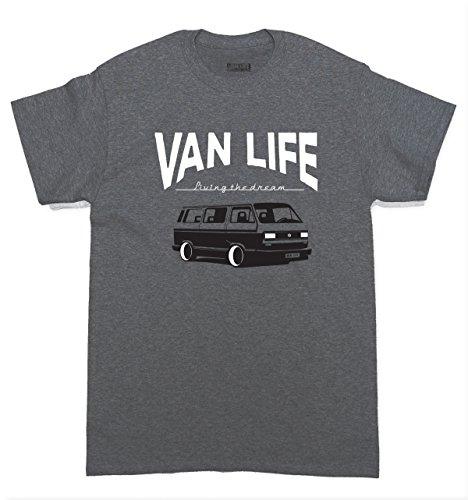 VW-T3-type-2-Van-Life-T-Shirt--Volkswagen-bus-veedub-campervan-retro-tee-80s-classic