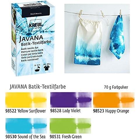Lote de tintes para técnica Batik sobre textiles (5 unidades), colores claros