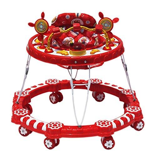 Iblay Baby Children Activity Walker For 6+ Months -Unisex (Red1)