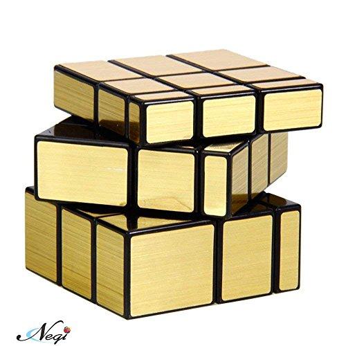 Negi 3x3 Mirror Cube, Gold