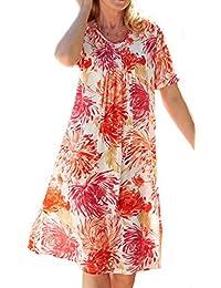 Ladies Apricot Summer Dress Plus Size 20 22