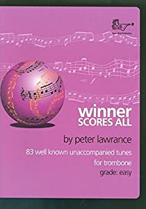 Winner Scores All Trombone (Bass Clef)