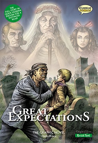 Great Expectations: The Graphic Novel: Quick Text (Classical Comics)