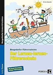 Der Lernen-lernen-Führerschein - 3./4. Klasse (Bergedorfer Führerscheine)
