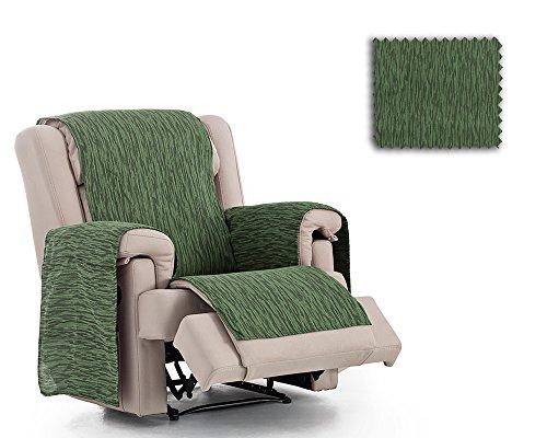 JM Textil Sessel-Schoner relax Indore, Größe 1 Sitzer (55cm) Farbe Grün E04