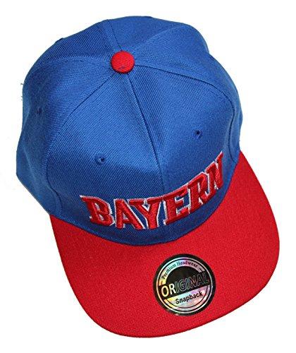 Bundesliga villes casquette sNAPBACK casquette bayern münchen fC schalke 04 dortmund - Multicolore - Taille unique