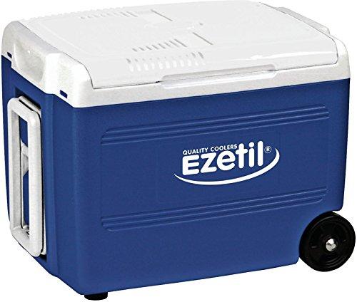 Ezetil E40 M Thermoelektrische Kühlbox 12/230V, Blau/Weiß