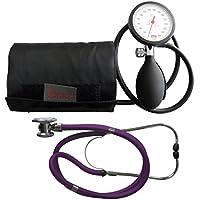 Tensiómetro electrónico de brazo boso K 1 Shock Protected Rappaport Estetoscopio púrpura doble cabezal de estetoscopio