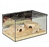 Geräumiges Kleintier Terrarium mit Glaswänden