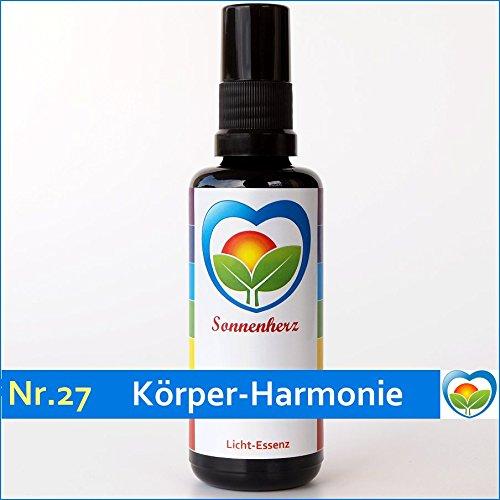 Energetische & feinstoffliche Lichtessenz Nr. 27 Körper-Harmonie von Sonnenherz. Auraspray, informierte Auraessenz, Sonnenessenz