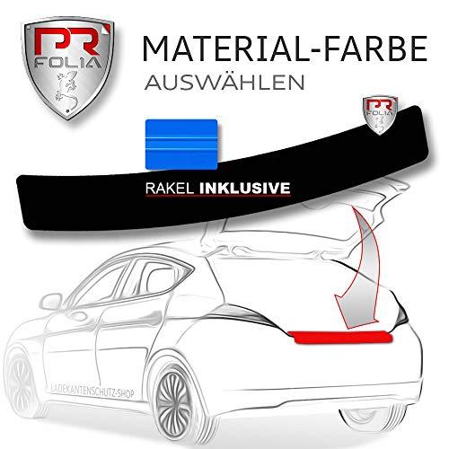 PR-Folia Lackschutz-folie passend für Octavia RS 5E kombi (Typ 5E ab Bj.05/2013 + Facelift) inkl. RAKEL, Stoßstangenschutz, Autofolie, selbstklebend, Schwarz