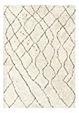 Decoweb Tapis Motif Berbère - Pharak (140 x 200 cm)