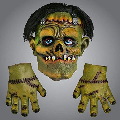 Deluxe Frankenstein Maske - Concept4u Deluxe Halloween Zombie Frankenstein Latex