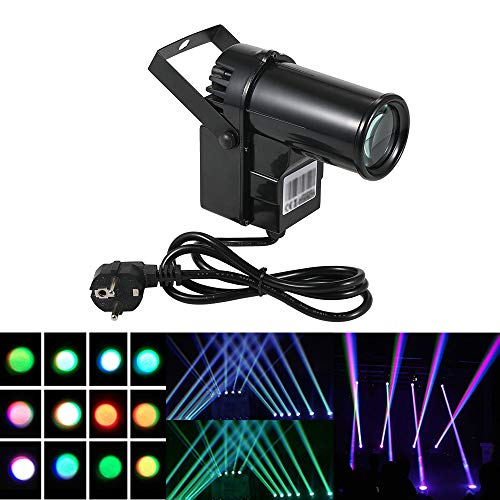 Docooler 90-240V 15W 6 Canales DMX512 Control Sonido Auto-play RGBW Cambiar Haz Lámpara de Luz LED de Escenario Para Discoteca KTV Club fiesta