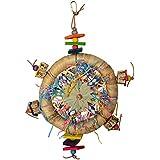 """Super Bird Creations Dream Catcher Bird Toy 15"""" X 11"""""""