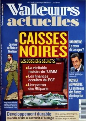 VALEURS ACTUELLES [No 3723] du 04/04/200...