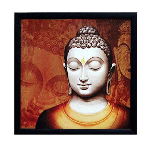 ecraftindia 'meditating buddha design' satin matt texture framed uv art painting (synthetic wood, 28 cm x 1.3 cm x 28 cm, red) eCraftIndia 'Meditating Buddha Design' Satin Matt Texture Framed UV Art Painting (Synthetic Wood, 28 cm x 1.3 cm x 28 cm, Red) 51IXLF 2B8gDL
