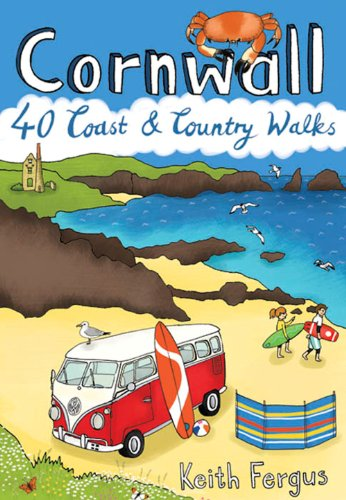 Cornwall : 40 Coast & Country Walks (Pocket Mountains)