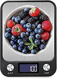 Food Digital Kitchen Scale, Multifunction Scale Measures in Grams and oz for Cooking Baking, 1g/0.1oz Precise