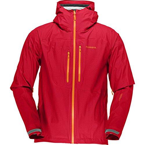 Preisvergleich Produktbild Norrona M Bitihorn Dri1 Jacket - Rebel Red - S - Vielseitige wasserdichte Herren Kapuzenjacke