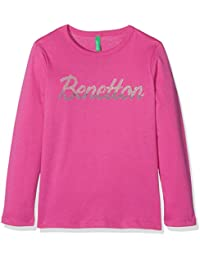 United Colors of Benetton T-Shirt Long Sleeve, Camiseta para Niñas