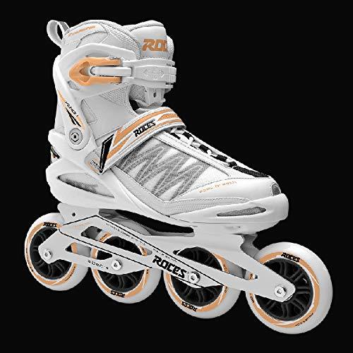 Inline-Skates Für Erwachsene 38 Schwarz Und Blau (Für Hello Erwachsene Kitty-schuhe)