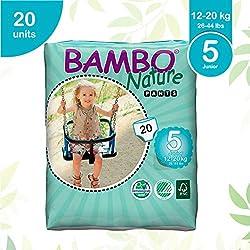 Bambo Natura Junior Pull Up pannoloni da allenamento - 1 confezione con 20 pannoloni