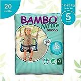 Abena Bambo Nature Junior Taille 5(12–20kg)–WC d'entraînement Pull Up Pants–20pièces par lot