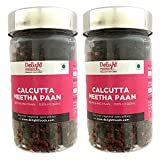 #2: Delight Foods Calcutta Meetha Paan, Weight 200gm (Set of 2 * 100gm) (Gold and Red)