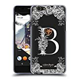 Official Nature Magick Letter B White Floral Monogram 1