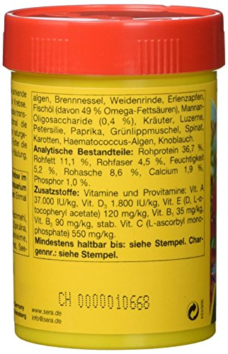 sera 00556 crabs natural 100 ml – Speziell für die Bedürfnisse von Krebsen entwickelt - 3