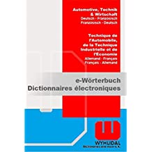 WYHLIDAL Automotive, Technik & Wirtschaft; Deutsch-Französisch/F-D; Fachwörterbuch mit 480.000 Stichwörtern