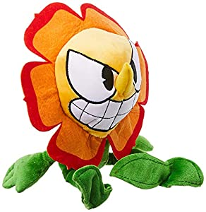 Funko-Peluche Color Cuphead Color Cagney Carnation, Multicolor, 33285