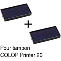 2ink pad refill for Stamps Colop Printer 2038x14mm Red