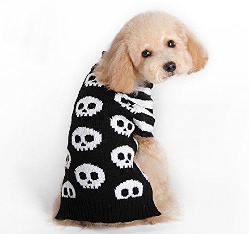 Hunde-Pullover/Hundekostüm/Verkleidung für Hunde für Halloween, gestrickt (Pullover Halloween-hund)