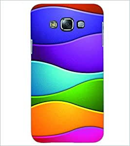 PRINTSWAG COLORFUL PATTERN Designer Back Cover Case for SAMSUNG GALAXY E7