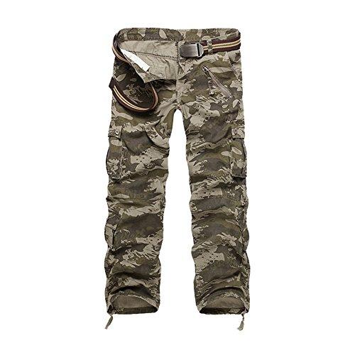 age Hose Military Hose Cargo Hose Herren Armee Camo Vintage Regular Fit Freizeithose Pant ()