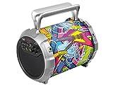Trevi XFEST XF 300 POP Altoparlante Amplificato Portatile con Mp3, USB, Bluetooth e Batteria Integrata, Karaoke Party Speaker con Microfono incluso