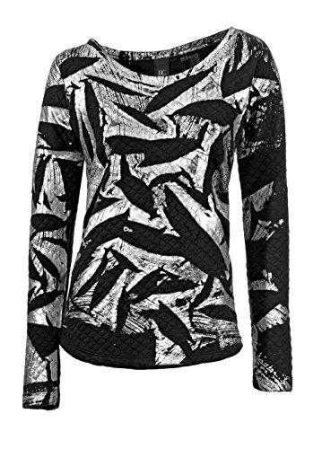 Heine - Best Connections Damen-Shirt Sweatshirt Mehrfarbig Größe 40/42
