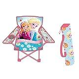 Kinder Campingstuhl AUSWAHL Spiderman Hello Kitty Minnie Maus Klappstuhl Stuhl Sessel Gartenstuhl (Frozen - Die Eiskönigin)