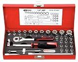 KS Tools 917.4030 1/4' Steckschlüssel-Satz, 30-tlg.